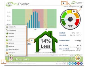 Screenshot of MyEyedro Client - Plugins