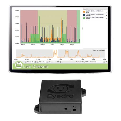 Eyedro Business Wireless Mesh 1-Sensor Expansion (sensors sold separately)