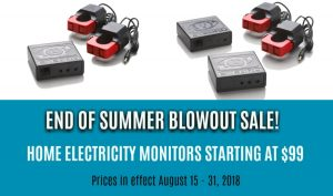 eyedro electricity monitors summer sale 2018
