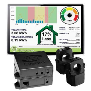 Eyedro EHWEM1-LV Home Wireless Mesh Electricity Monitor