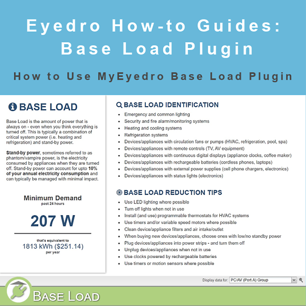 How to Use the Base Load Plugin