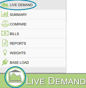 Live Demand in Plugin Menu