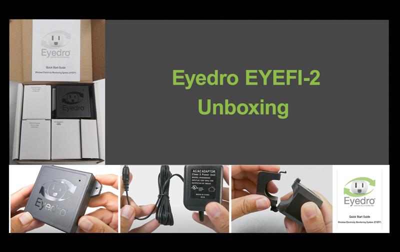Eyedro EYEFI-2 Unboxing